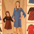 McCalls Sewing Pattern 4243 Girls Childs Dress Size 3-6 Uncut