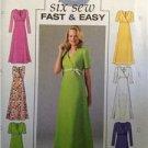 Butterick Sewing Pattern 4225 Ladies Misses Dress Size 8-12 Uncut