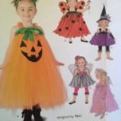 Simplicity Sewing Pattern 1768 Toddlers Pumpkin Fairy Size 1/2-3 Uncut New