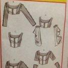 McCalls Sewing Pattern 4994 Ladies / Misses Renaissance Top Size 6-12 Uncut