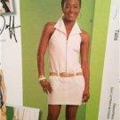 McCalls Sewing Pattern 5660 Ladies Misses Dress Jumpsuit Size 4-10 Uncut