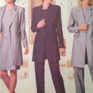 Butterick Sewing Pattern 5789 Ladies Misses Top Pants Jacket Size 8-12 Uncut