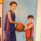 McCalls Sewing Pattern 4820 Childs T-Shirt Shorts & Pants Size 10-14 Uncut