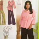 Simplicity Sewing Pattern 2636 Ladies / Misses Shirt Skirt Pants Size 26W-32W UC