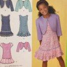 Simplicity Sewing Pattern 2470 Girls Dress & Bolero Size 8 1/2-16 1/2 Uncut