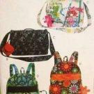 McCalls Sewing Pattern 6176 Ladies / Misses Bags Four Styles Uncut