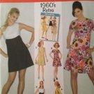 Simplicity Sewing Pattern 3833 0645 Ladies / Misses 1960's Retro Dress 6-14 UC