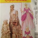 McCalls Sewing Pattern 6139 Misses / Childs American Colonial Size 3-8 Uncut