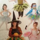 Simplicity Sewing Pattern 2071 Childs Witch Fairy Princess Costume Size 3-6 UC