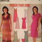 Simplicity Sewing Pattern 7156 Ladies / Misses Dress Size 6-12 UC