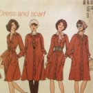 Sewing Pattern No 7135 Simplicity Ladies Dress and Scarf Size 10