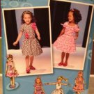 Sewing Pattern No 1670 Simplicity Toddler Girls/Child Dress Size 1/2-3 Uncut