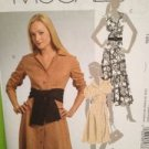 McCalls Sewing Pattern 5378 Ladies Misses Dress & Belt Sash Size 6-14 Uncut