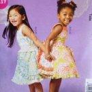 McCalls Sewing Pattern MP304 Childs / Girls Dress Belt Petticoat Size 2-5 Uncut
