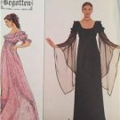 Simplicity Sewing Pattern 8619 Ladies Pullover Dress Size 10-14 UC Water Damaged