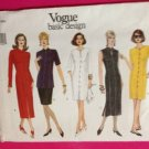 Vogue Sewing Pattern 1381 Ladies / Misses Dress Top Skirt Size 8-12 Uncut