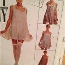 McCalls Sewing Pattern 7583 Ladies Misses Dress Teddy Size 8-10 Uncut