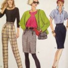 Vogue Sewing Pattern 8359 Ladies / Misses Skirt & Pants Size 6-10 UC