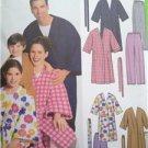 Simplicity Sewing Pattern 5364 Unixes Childs Adults Teens Robe Pants XS-XL