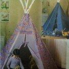 Butterick Sewing Pattern 4251 Tepee Mat Uncut Craft Childrens