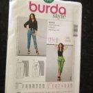 Burda Sewing Pattern No 7371 Ladies / Misses Pants Size 8-20 Uncut New