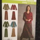 Sewing Pattern No 3568 Simplicity Ladies Top Pants and Skirt Size 10-18