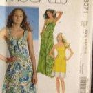 McCalls Sewing Pattern 6071 Ladies / Misses Dresses Size 4-12 UC