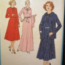 Sewing Pattern No 8892 Simplicity Pullover Dress & Unlined Jacket Size 14 1/2 UC