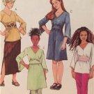 McCalls Sewing Pattern 4506 Girls Childs Tops Dress Skirt Pants Size 7-12 UC