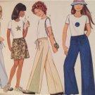 Butterick Sewing Pattern 5964 Girls Childs Skirt Pants Top Size 12-16 Uncut