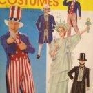 Sewing Pattern 8701 McCalls Costume Adults USA Size 32 1/2 - 34 SM UC