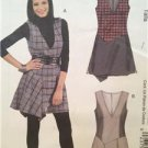 Mccalls Sewing Pattern 6396 Ladies Misses Jumpers Size 4-10 Uncut