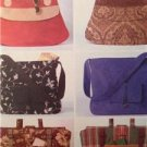McCalls Sewing Pattern 4608  Fashion Accessories Bags Misses Handbags One Size