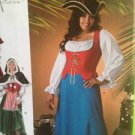 Simplicity Sewing Pattern 2800 Misses / Ladies Pirate Costumes Size 18w-24w UC