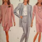 Sewing Pattern No 6220 Butterick Ladies Jacket Dress top Skirt & Pants Size 6-10
