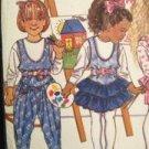Sewing Pattern No 5075 Butterick Girls Jumper Jumpsuit & Top Size 5-6X