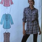 Simplicity Sewing Pattern 2447 Ladies Misses Shirt Size 16-24 Uncut