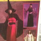 McCalls Sewing Pattern 5211 / 0405 Ladies Misses Witch Fantasy Costumes Sz 14-20