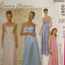 McCalls Sewing Pattern 9287 Ladies / Misses Dress & Scarf Size 6-10 Uncut
