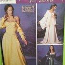 Simplicity Sewing Pattern 5843 Misses Padme Renaissance Costume Size 4-10 Uncut