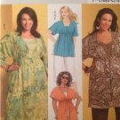 Butterick Sewing Pattern 5195 Misses Top Dress Tunic Pants Size 18w-24w Uncut