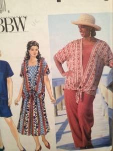 Simplicity Sewing Pattern 9537 Ladies / Misses Top Pant Skirt Size 26W-32W Uncut