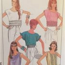 Simplicity Sewing Pattern 8623 Ladies Misses Pullover Tops Size 10-14 Uncut