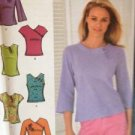 Simplicity Sewing Pattern 4541 Ladies / Misses Woven & Knit Tops Size 6-12 UC