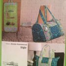 Simplicity Sewing Pattern 2600 Misses Quilted Travel Accessories Bags One Size