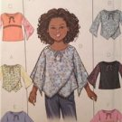 Butterick Sewing Pattern 4274 Girls Plus YTop Blouse Tunic 10 1/2- 16 1/2
