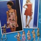 Simplicity Sewing Pattern 2902 Junior Dress Mini Project Runway Size 3-10