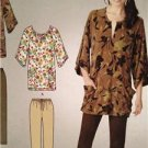 Simplicity Sewing Pattern 1859 Ladies Misses Knit Tunic Slim Pants Size 8-18 UC