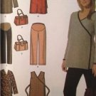 Simplicity Sewing Pattern 4890 Maternity Dress Top Pants Bag Size 8-14 Uncut
