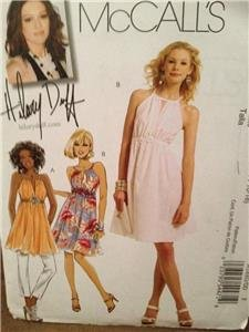 McCalls Sewing Pattern 5880 Ladies Misses Lined Tunic Dress Size 12-18 Uncut